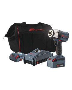"""3/8"""" High Torque Impact Wrench - 2-Bat Kit"""