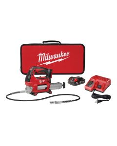 M18 Cordless 2-Speed Grease Gun w/ (1) Battery Kit