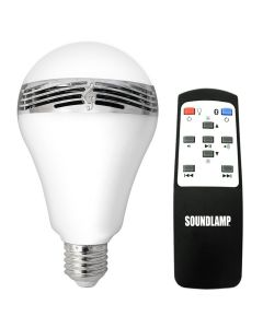 SoundLamp LED Light Bulb with Bluetooth Speaker