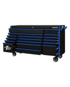 TPL Bank Roller, Black, Blue-Drawer