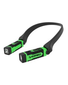 ANYWEAR Red Rechargeable Neck Light, Green