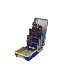29 Piece Black and Gold Metal Index Drill Bit Set