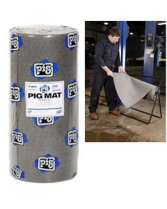 New Pig Universal Medium-Weight Absorbent Mat Roll - 30 in. x 150 ft. (180 Pads per Roll)
