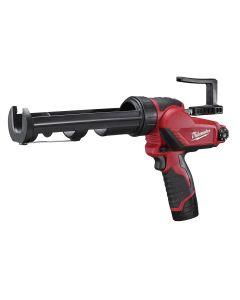 Milwaukee M12 10 oz. Cordless Caulk / Adhesive Gun w/ Battery Charger Kit