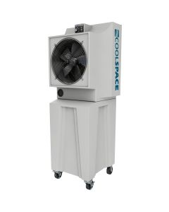Coolspace 18 in. Evaporative Cooler, Variable Speed, 42 Gallon