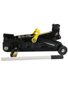 """Trolley Floor Jack, 2 Ton Capacity, 5"""" to 12"""" Lifting Range, with Quick Release Valve"""