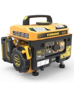 Open Frame 1300/1050W Recoil Gasoline Powered Portable Generator
