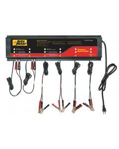 Smart Battery Charger, 6-Channel, 120V, 5 amp