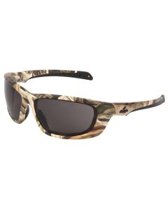 Mossy Oak Blades UD1 Series Camouflage Safety Glasses Mossy Oak Shadow Grass Blades Camo Pattern Gray Lenses w/ MAX6, Anti-fog Coating
