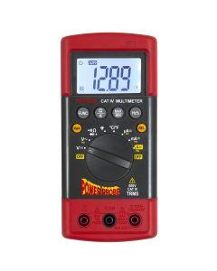Power Probe TEK CAT-IV 600V Rugged Digital Multimeter