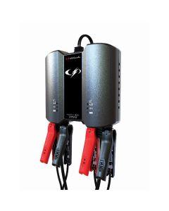 Schumacher 2-Bank 2A Battery Charger/Maintainer 6V/12V