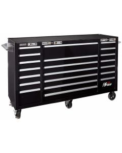 Homak Mfg. H2PRO Series 72 in. 10-Drawer Top Chest, Black