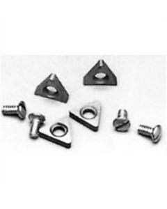 FMC/John Bean/ Barrett Style Positive Rake Carbide Bits (10 Pack)