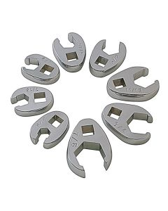 """8PC SAE FLARE CROWFOOT WRENCH SET 3/8""""-7/8"""""""