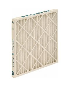 "16 x 25 x 1"", MERV 13, 80 to 85% Efficiency, Wire-Backed Pleated Air Filter"