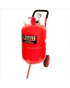 Sand Blaster, 20 Gallon Tank, 60-125 PSI, with Wheels, 8' Hose, Automatic Nozzle, Funnel, Hood