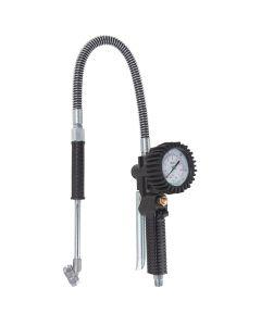 Professional Tire Inflator Gauge with 2-1/2 Mechanical Pressure Gauge