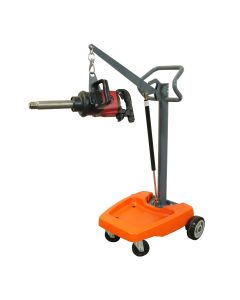 Mobile impact wrench support stand