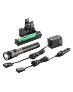 Stinger LED HL 120V/AC DC Piggyback, Carbon Fiber, 800 Lumens