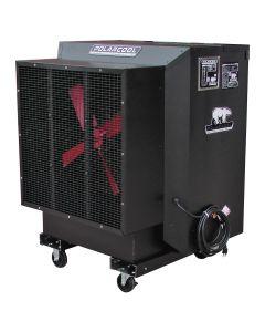 "24"" Black Galvanized Steel Evaporative Cooler"