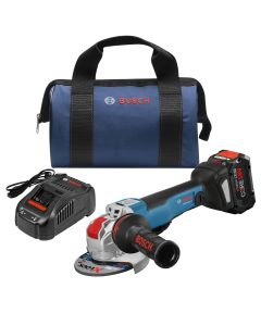 "18V Brushless 4-1/2""-5"" X-Lock Grinder w/ Break and (1) 8.0 Ah CORE Performance Battery"