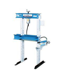 17-1/2 Ton Open Throat with Hand Pump Floor Press