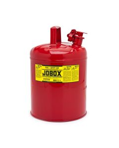 Jobox Type 2 Safety Can, 5 Gallon, Red