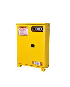Jobox Self-Closing Safety Cabinet, 45 Gallon, Yellow