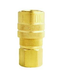 "3/8"" NPT Female M-Style Coupler"