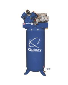 Quincy QT 5-HP 80 Gallon Two-Stage Air Compressor (230V-1-Phase)  Vertical  MAX