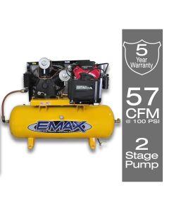 Stationary Gasoline Electric Air Compressor