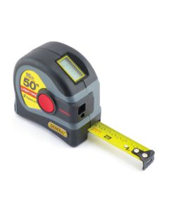 2-in-1 Laser Measure & Tape Measure