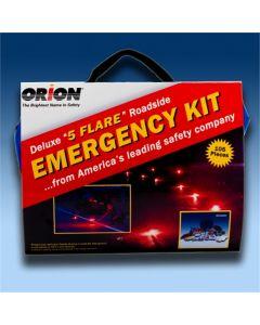 Orion Deluxe 5-Flare Roadside Emergency Kit