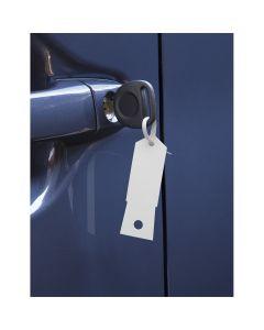 White Plastic Key Tags- 1,000/Box