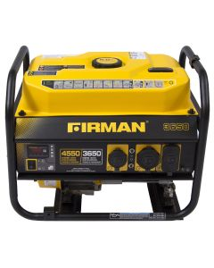 Firman Power Equip. P03601 Gas Powered 3650/4550 Watt Portable Generator