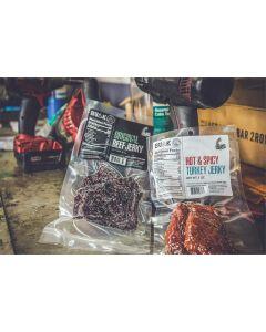 Bulk Beef Jerky TEXAS VARIETY Pack  (12 - 3 oz. Packs)