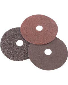 "Sanding Discs, 7"" x 7/8"", 36 Grit (3 Pack)"