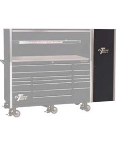 """Extreme Tools Black Side Cabinet Only for 72"""" Tool Box Series"""