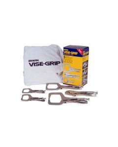 Vise-Grip 5-Piece Welding Clamp Kit with T-Shirt