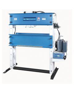 100-Ton Heavy-Duty Shop Press with Single Phase Hydraulic Pump