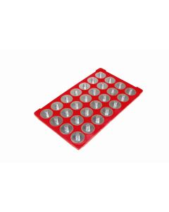 """Socket Caddy and 28 Interchangeable Pegs 3/8"""" Drive 6-1/8"""" x 10-1/4"""""""