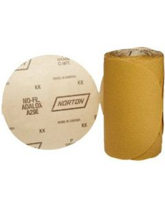 PSA Disc Roll 6In. 80 Grit A/O
