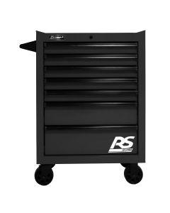 Homak Mfg. 27 in. RS PRO 7 Drawer Roller Cabinet - Black