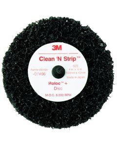 """Scotch Brite Clean and Strip Black Disc  4"""" x 1/2"""""""
