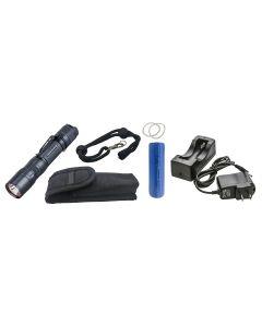 800 Lumen IPX-6 Rechargeable LED Flashlight