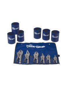 Vise-Grip 6-Piece Locking Pliers Set with 6 Koozie Cups