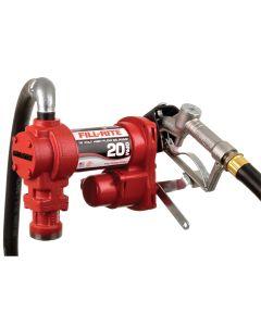 12V Fuel Transfer Pump Kit 20GPM