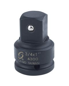 3/4 in. Female to 1 in. Male Impact Socket Adapter