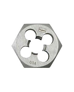 "High Carbon Steel Hexagon 1-7/16"" Across Flat Die 14mm-2.00"