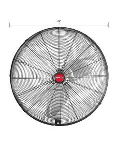 Oscillating Wall Fan, 24 in.